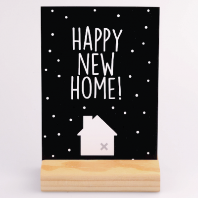 Kaart Happy New Home Krúskes.nl