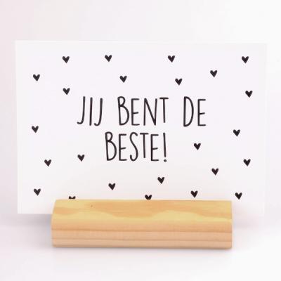 Kaart Jij bent de Beste - Krúskes.nl