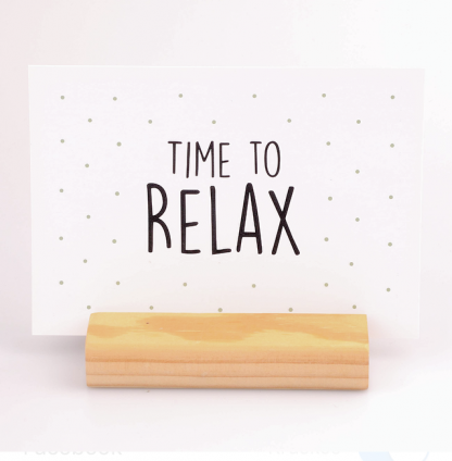 Kaart Time To Relax - Krúskes.nl