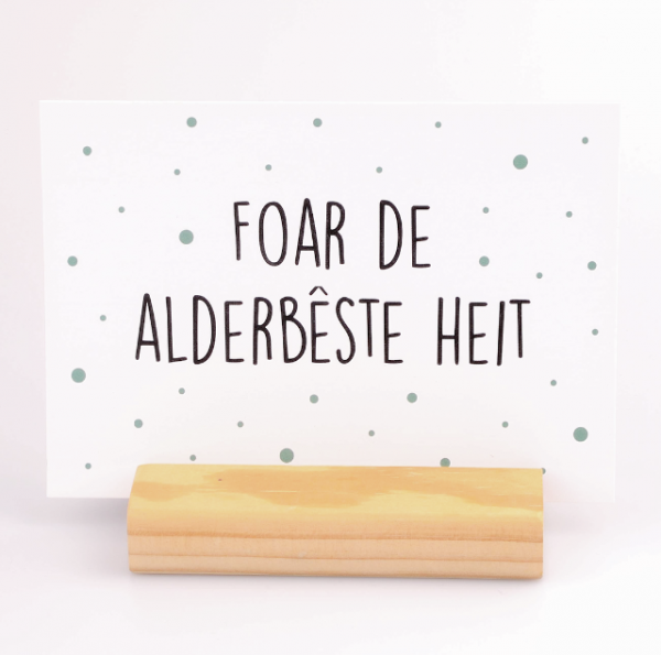 Kaart Alderbêste Heit - Krúskes.nl