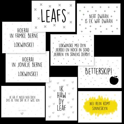 Friestalige kaartenset - Krúskes