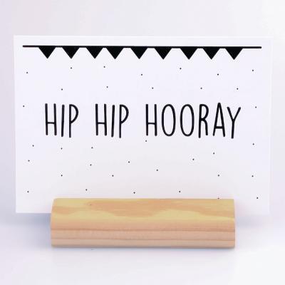 Kaart Hip Hip Hooray - Krúskes.nl