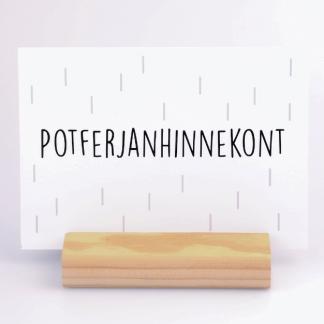 Kaart Potferjanhinnekont - Krúskes.nl