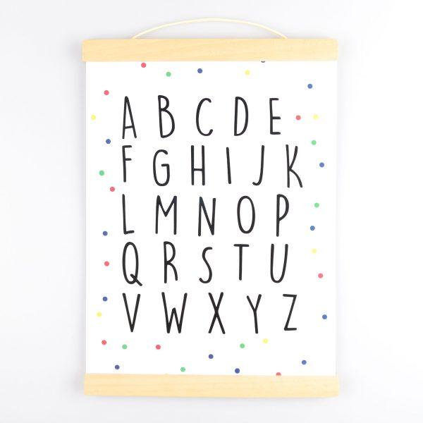 Poster Alfabet - Krúskes.nl (2)