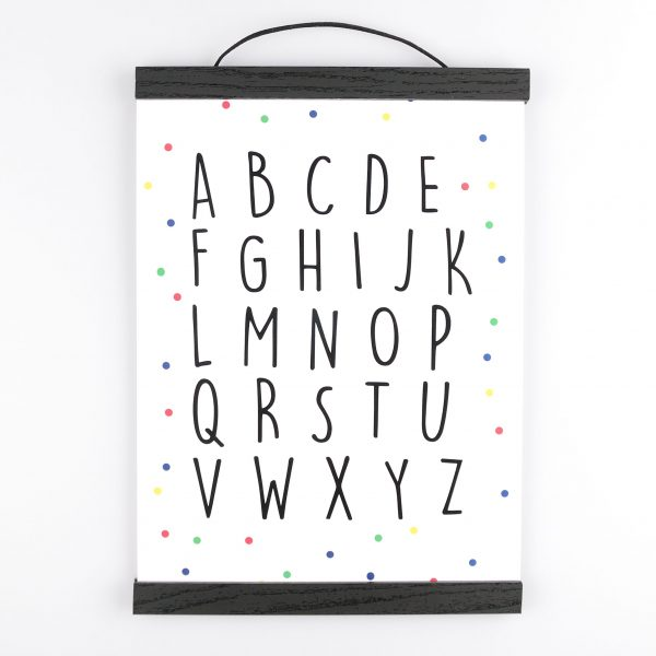 Poster Alfabet - Krúskes.nl
