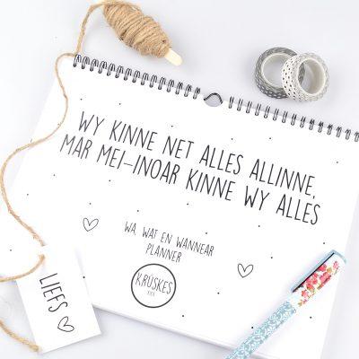 Wa, Wat en Wannear Planner - Friese Familieplanner - Krúskes.nl (4)