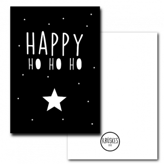 Poster Happy Ho HO HO Krúskes