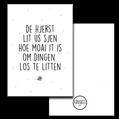 Poster Hjerst Krúskes