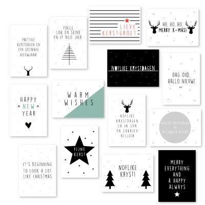 Kerstkaartenset Krúskes - 14 kaarten