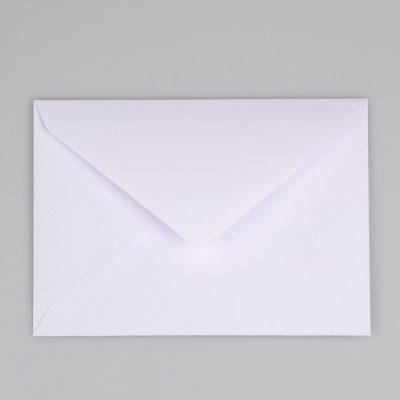 Blanco Envelop C6 Achterkant - Krúskes.nl