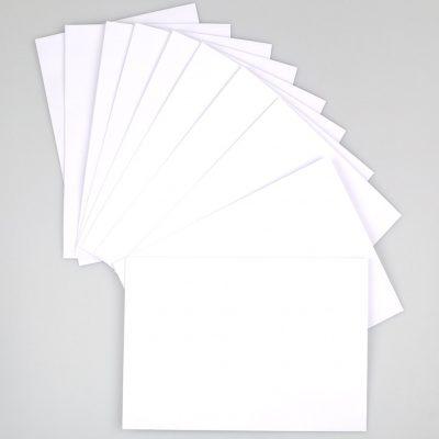 Blanco enveloppen EA5 - Krúskes.nl