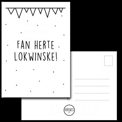 Kaart Fan Herte Lokwinske - Krúskes
