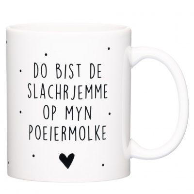 Mok - Poeiermolke - Zwartwit - kruskes (1)