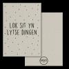 Grijskaart Lok Sit Yn Lytse Dingen - Krúskes