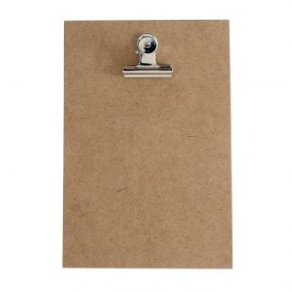 Handgemaakt klembord voor kaarten A5 Hardboard - Krúskes.nl