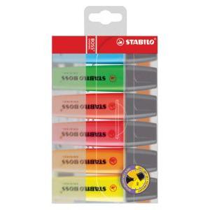 Stabilo Boss - Markeerstift - 6 stuks