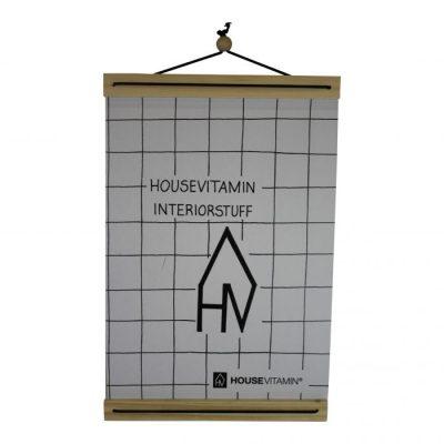 Posterhouder A4 - Hout