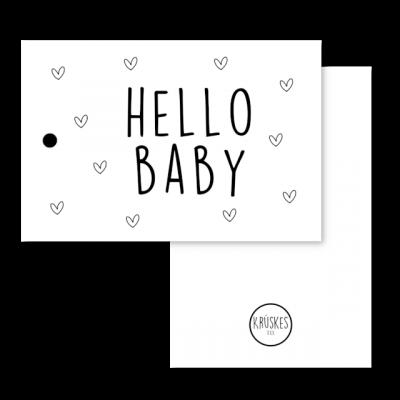 Cadeaulabel Hello baby