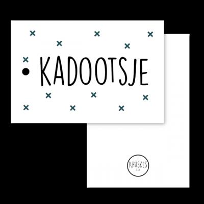 Cadeaulabel Kadootsje