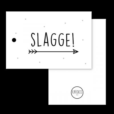 Cadeaulabel Slagge