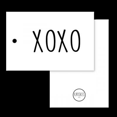 Cadeaulabel XOXO