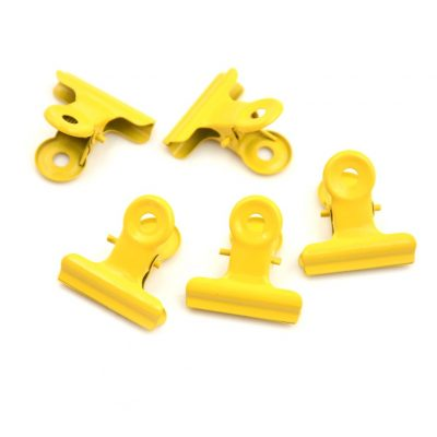 Klemmetje geel 3cm - Krúskes.nl
