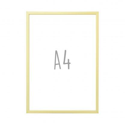 Posterlijst A4 - Champagne - Krúskes.nl