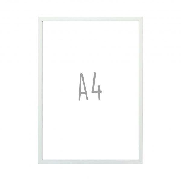 Posterlijst A4 - Mat zilver - Krúskes.nl