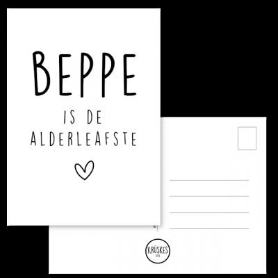 Kaart Beppe - Kruskes