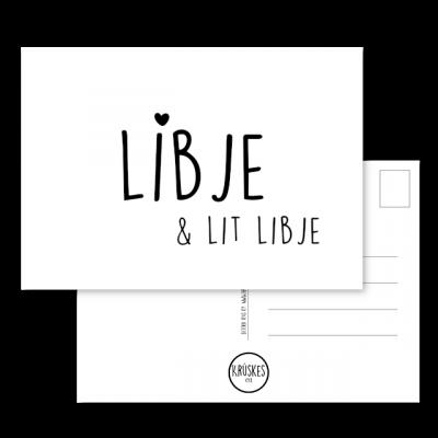 Kaart Libje en Lit Libje - Kruskes