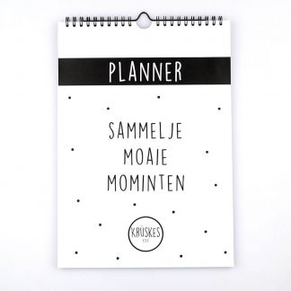 Ophangbare weekplanner met Friese quotes - Krúskes.nl