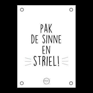 Poster Pak de Sinne en Striel - Krúskes