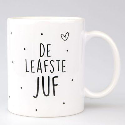 Mok - De Leafste Juf - voorkant - Krúskes.nl