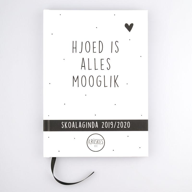 Friese schoolagenda 2019-2020 - voorkant - Krúskes.nl