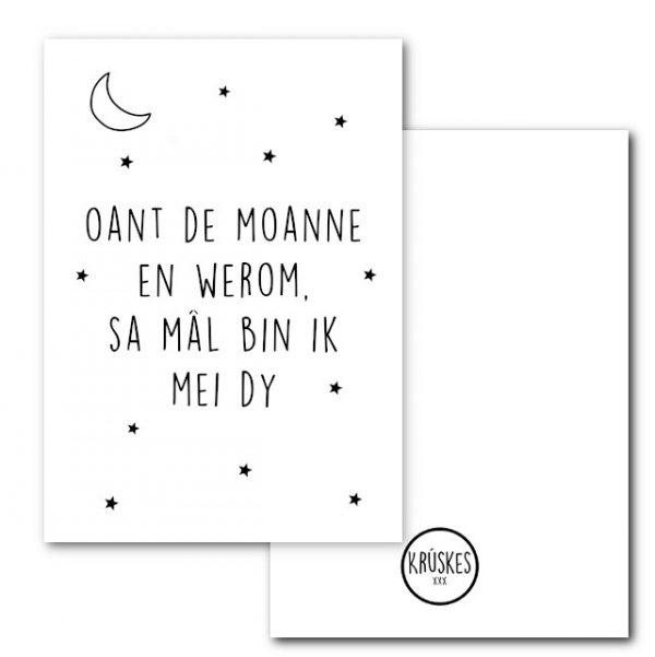 Poster - Oant de Moanne - Krúskes