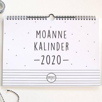 Friese Maandkalender 2020 A4 Krúskes
