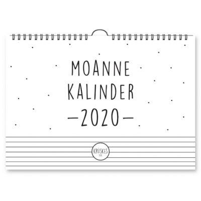 Moannekalinder 2020 -Krúskes cover