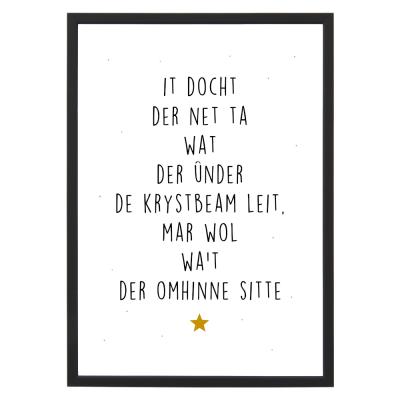poster met lijst Krystbeam