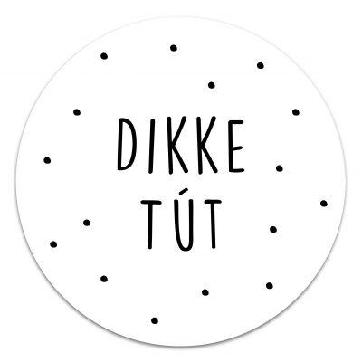 Muurcirkel Dikke tút 20 cm Krúskes