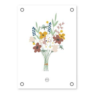 Tuinposter - Bloemen - Krúskes