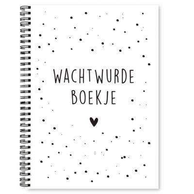 Cover wachtwurdeboekje Krúskes