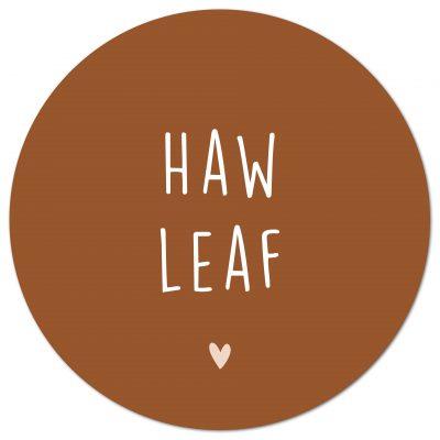 Haw leaf